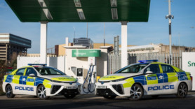 London's police cop a load of clean hydrogen cars