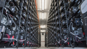 UK's 'largest' battery storage facility completed