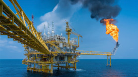 Global gas flaring at oil production sites declined last year