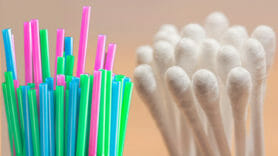 Plastic straws and cotton buds could be banned in England in a year