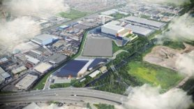 Work beings on new rubbish energy facility in London