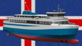 Iceland's first electric ferry makes a splash