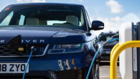 Jaguar Land Rover plugs in 'UK's largest' smart EV charging facility