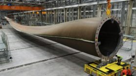 LM Wind Power unveils 'world's biggest' wind turbine blade