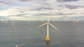 Final turbine installed at Scotland's largest offshore wind farm