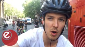London's cycle strike takes climate action up a gear