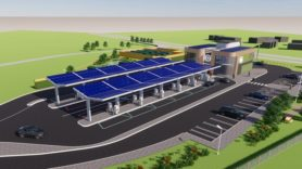 First of more than 100 solar-powered electric forecourts planned for Essex