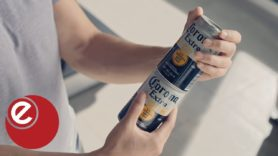 Corona says screw waste with stackable new cans