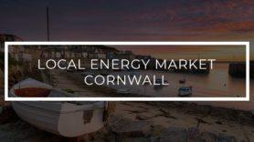 Pioneering Local Energy Market trial in Cornwall