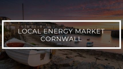 Pioneering Local Energy Market trial in Cornwall