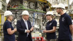 Boris Johnson hails 'world leading' fusion energy research in Oxfordshire