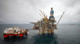 First oil flows from giant $7.7bn UK North Sea development