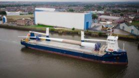 World's longest turbine blade arrives for testing in the UK