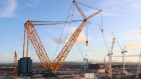 Big Carl: World's biggest crane starts work at Hinkley Point C nuclear plant