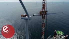 Final turbine installed at 'world's largest' offshore wind farm