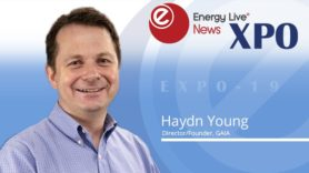 Energy Live Expo 2019: Podcast with GAIA's Haydn Young