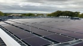 Solar panels defend against high energy costs at MOD site