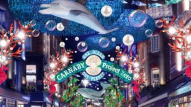 Carnaby Street's Christmas lights illuminate the need for ocean conservation